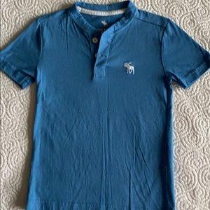 Abercrombie Kids Henley shirt. Like new.